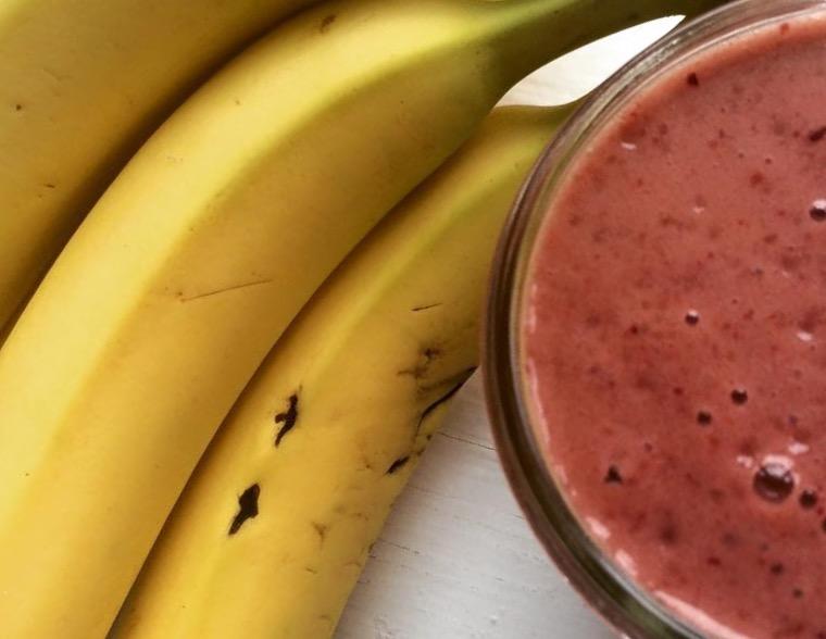 Receitas de smoothies de banana e morango irresistíveis
